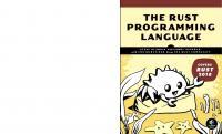 The Rust Programming Language [1ed.]  1718500440,  978-1718500440