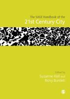 The SAGE Handbook of the 21st Century City  9781473907560, 2017930833