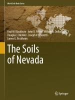 The Soils of Nevada [1st ed.]