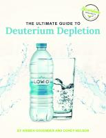 The Ultimate Guide to Deuterium Depletion