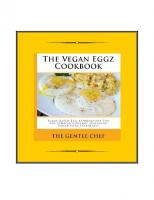 The Vegan Eggz Cookbook