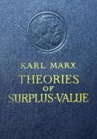 Theories of Surplus-Value. Part III [3]