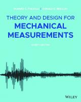 Theory and Design for Mechanical Measurements [7 ed.]
