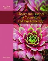 Theory and practice of counseling and psychotherapy [9th edition]  9780840028549, 0840028547, 9781133309338, 113330933X