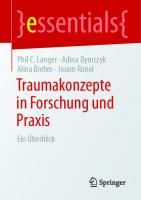 Traumakonzepte in Forschung und Praxis: Ein Überblick [1. Aufl.]  9783658316822, 9783658316839