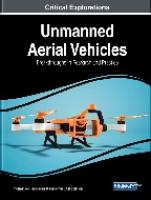 Unmanned aerial vehicles : breakthroughs in research and practice