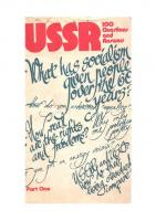 USSR: 100 Questions and Answers