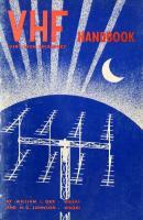 VHF handbook for radio amateurs. [1ed.]