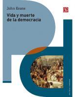 Vida y muerte de la democracia  9786071661616