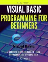 Visuaʟ basic programming for beginners
