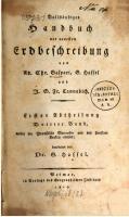 Vollständiges Handbuch der neuesten Erdbeschreibung [1, 3]