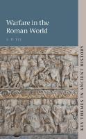 Warfare in the Roman World  110701428X, 9781107014282
