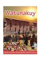 Watunakuy. El ritual a las semillas para el renacer de la espiritualidad y la diversidad biocultural, en tiempos de crisis climática y de valores