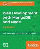 Web Development with MongoDB and Node [Third Edition]