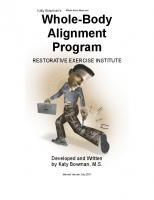 Whole-Body Alignment Program