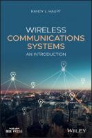 Wireless Communications Systems: An Introduction  9781119419174