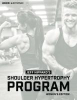 Women's Shoulder Hypertrophy Program [womens editions]