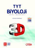 Çözüm 3D TYT Biyoloji Soru Bankası [YKS 2020ed.]  9786051943084
